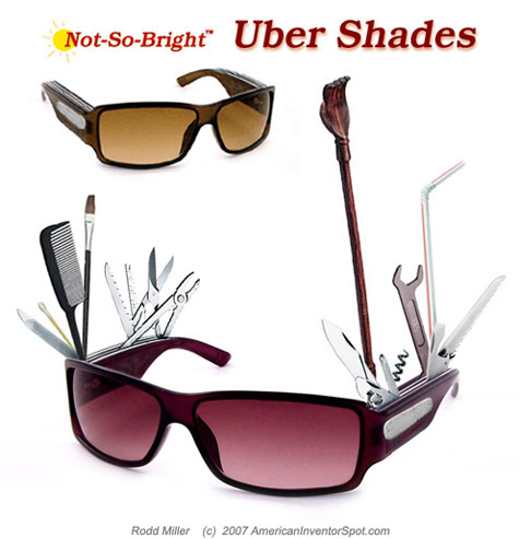 Uber Shades Concept: The Future Of Sunglasses Is Not So Bright » image 1