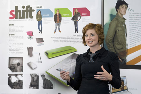 BYU Industrial Design Majors Present Dell Ultra Mobile PCs and Mity-Lite Chairs » image 1