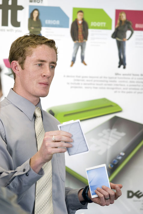 BYU Industrial Design Majors Present Dell Ultra Mobile PCs and Mity-Lite Chairs » image 2
