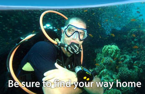 Underwater SMS for Divers - UDI Digital Texting » image 2