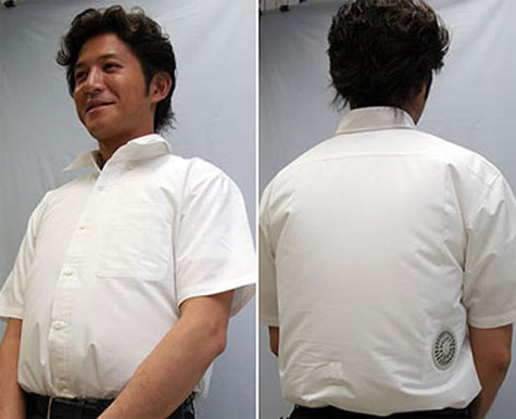 USB Air Conditioned Shirt » image 2