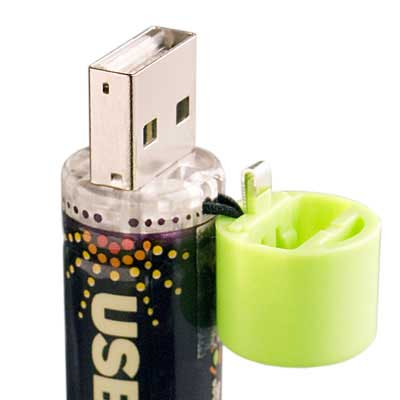 USB cell , AA batteries that recharge via USB » image 03