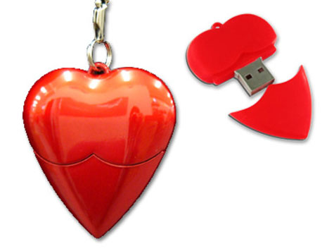 Heart Shaped USB Drive » image 1