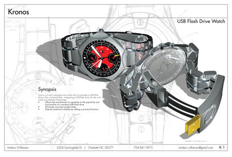 Kronos,First USB Flash Drive Watch » image 1