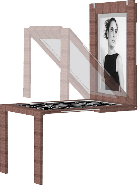 Wall Mounted Picture Frame Table » image 2