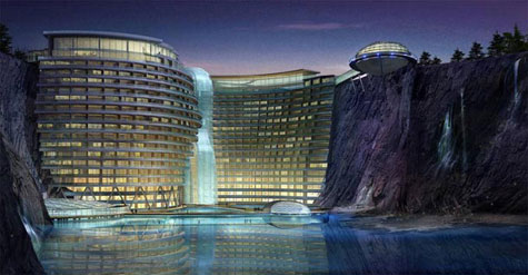 Luxury Waterfall Quarry In China » image 1