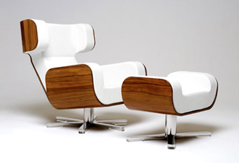 Wing Lounge Chair » image 1