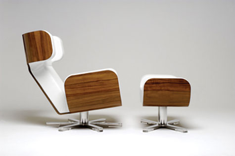 Wing Lounge Chair » image 3