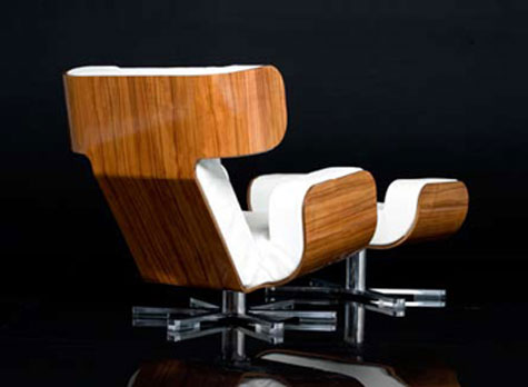 Wing Lounge Chair » image 4