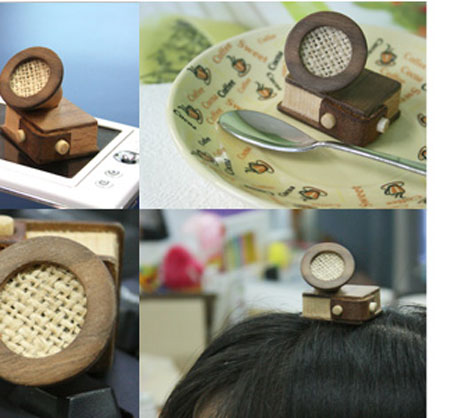 Wooden iPod Mini Speaker With Integral Pencil Sharpener » image 4