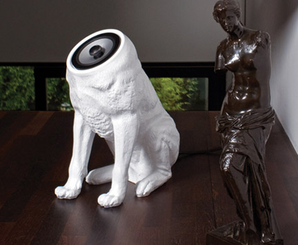 Woofer Dog Shaped Speaker System » image 1